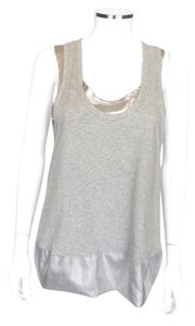 Marc by Marc Jacobs Top Gray-Silver