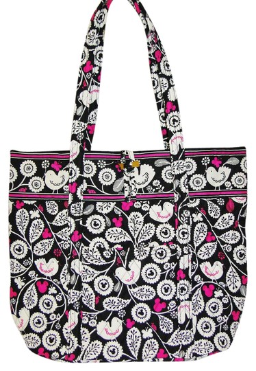 Preload https://img-static.tradesy.com/item/21304846/vera-bradley-mickey-meets-birdie-color-craze-black-white-and-pink-quilted-fabric-tote-0-1-540-540.jpg