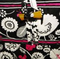 Vera Bradley Mickey Color Craze Quilted Mickey Meets Birdie Tote in Black, White & Pink Image 2
