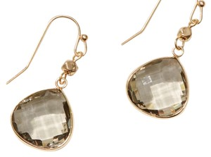 Ann Taylor LOFT multifaceted drop earring