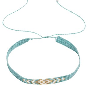 Lucky Brand turquoise beaded choker
