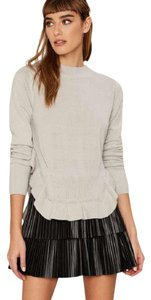 Nasty Gal Ruffle Cropped Sweater