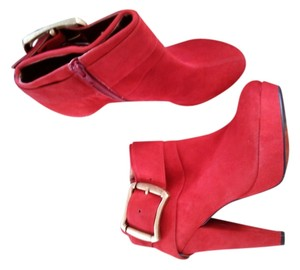 Luichiny Red /Suede Boots