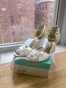 De Mer Wedges Wedding Shoes