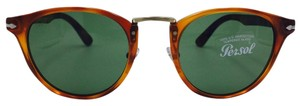 Persol Hand Made Typewriter Edition Persol Round Sunglasses 3108-S 96/4E 49