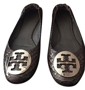 Tory Burch dark branch/gold Flats