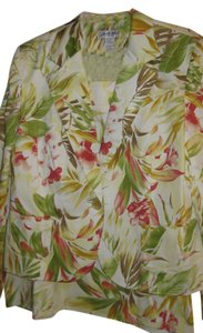 Judith Hart Skirt Suit ~ Tropical Themed