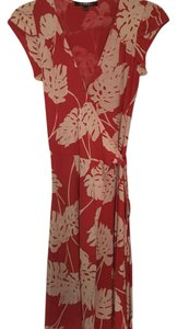 SpicyGirl short dress red/ white Wrap Flowy Floral Date Night Party on Tradesy