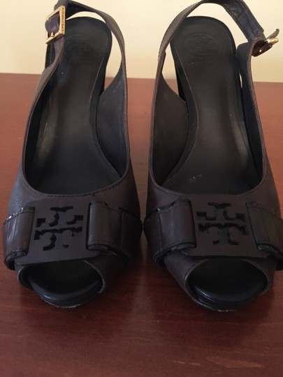 Tory Burch Leather Style Louis Vuitton Burberry Hermes Balmain Heels Gucci Chanel Great Condition Sale Classy Tomford Brown Sandals