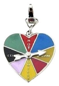 Fossil Fossil Love and Luck Heart Spin The Wheel Charm