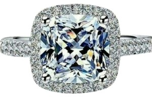 Pt950 new diamond ring all sizes in stock 5 6 7 8 9 engagement proposal 3ct vvs1