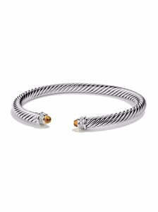 David Yurman David Yurman Cable Classics Bracelet with Citrine and Diamonds