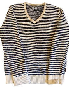 Burberry Brit Burberry Stripes V-neck Sweater