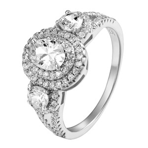 Other 925 Sterling Silver Engagement Ring Bridal Solitaire Round Cut CZ