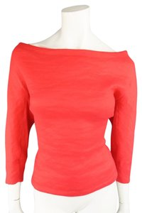Donna Karan Dress Nylon Top Red