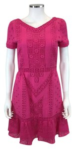 Valentino short dress Fucshia on Tradesy
