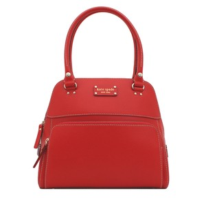 Kate Spade Timeless Investment Satchel in Red