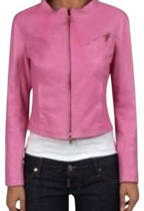 Dsquared2 pink Leather Jacket