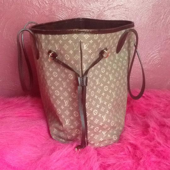 Louis Vuitton Neverfull Gm Pm Mm Tote in Burgundy Sepia Image 1