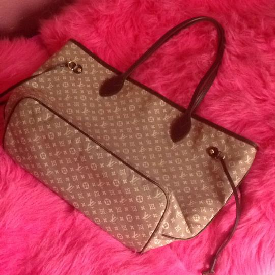 Louis Vuitton Neverfull Gm Pm Mm Tote in Burgundy Sepia Image 11