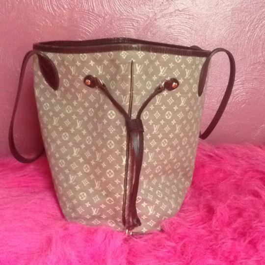 Louis Vuitton Neverfull Gm Pm Mm Tote in Burgundy Sepia Image 2
