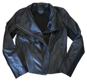 Trouvé black Leather Jacket