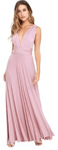 Mauve Maxi Dress by Lulu*s Flowy Flattering Elegant