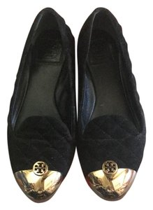 Tory Burch black/bronze Flats