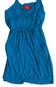 Akira short dress blue on Tradesy