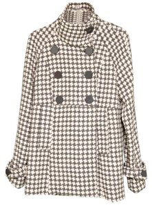 Steve Madden Double Breasted Big Buttons Coat