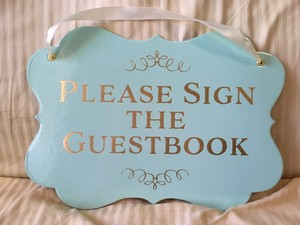 Please Sign The Guestbook Sign