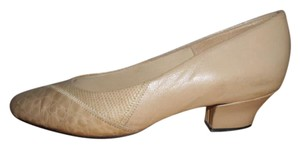 Hush Puppies Beige Pumps