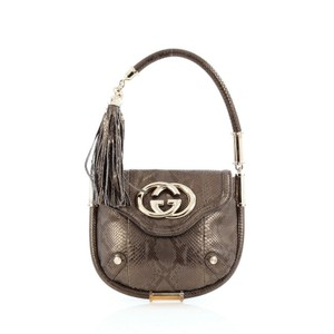 728aad252dee Gucci Python Shoulder Bag