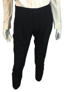 Parker Silk Alice & Olivia Relaxed Pants Black