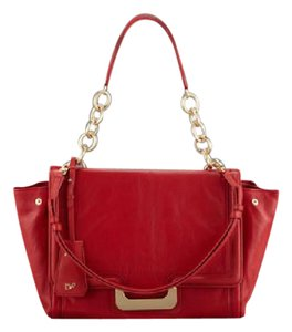 Diane von Furstenberg Satchel in Red