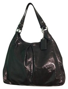 Coach Maddison Maggie Patent Leather Classic Shoulder Bag