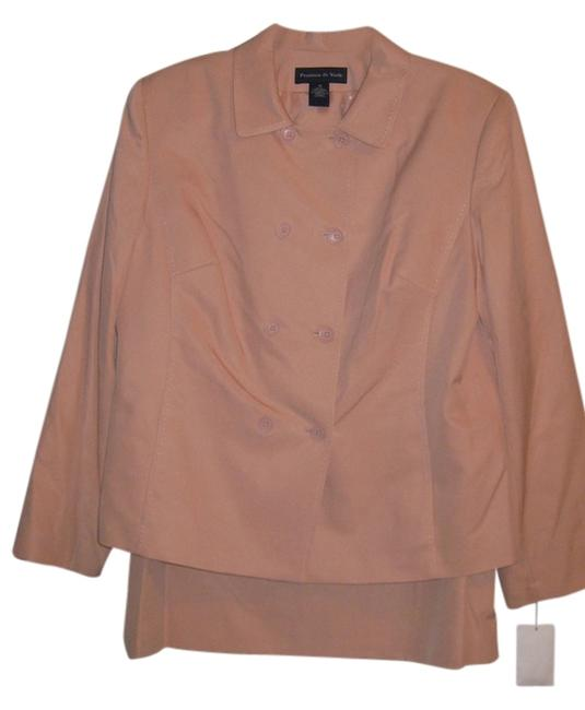 Preston & York Double Breasted Skirt Suit