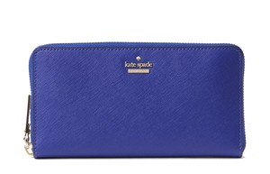 Kate Spade Kate Spade Nightlife Blue Saffiano Leather Cameron Street Lacey Wallet