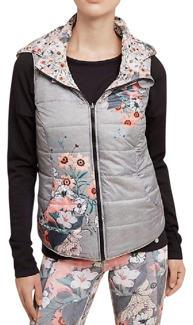 Item - Multicolor Perennial Puffer By Pure + Good Vest Size 6 (S)