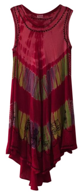 Item - Red Ground - Short Casual Dress Size OS (one size)