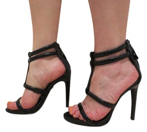KG Kurt Geiger High Heel Grace Ankle Black Sandals