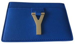 Saint Laurent Wristlet in Bleu Majorelle