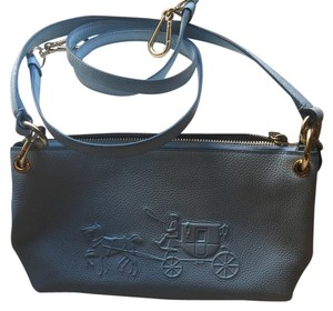 Coach 1941 light blue Clutch