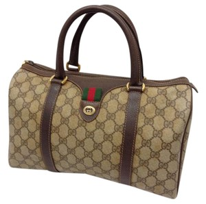 Gucci Gg Satchel in brown