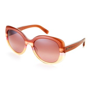 Salvatore Ferragamo SALVATORE FERRAGAMO Two-Tone SF793/S XL Round Sunglasses