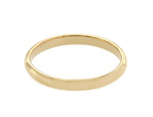 Tiffany & Co. Tiffany and Co Yellow Gold Wedding Band Ring Size 12.5