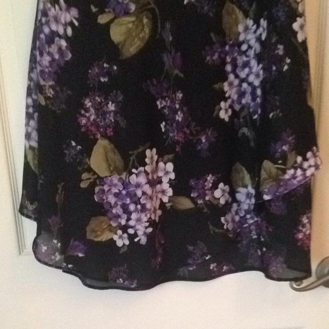 Dress Barn Skirt Black/lavender/purple/white/olive