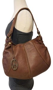 Lucky Brand Purse Peace Charm Tote in Brown