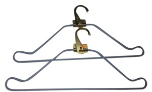 Louis Vuitton 100% Authentic Two Louis Vuitton Gold Hanger