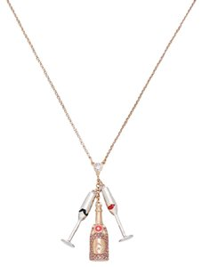Kate Spade Kate Spade New York Gold-Tone Champagne Pendant Necklace